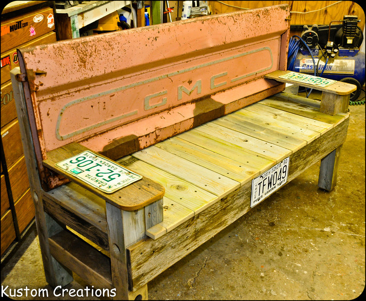 Tailgate Benches - #2239822309 - KustomCreations' Photos | SmugMug